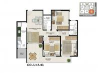Apartamento 03 - 79,12m²