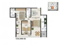 Apartamento 02 - 67,40m²