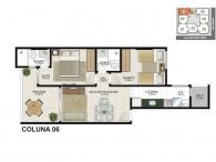 Apartamento 06 - 60,97m²