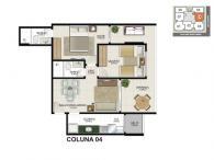 Apartamento 04 - 66,98m²