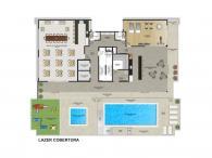 Lazer na Cobertura - 594,35m²